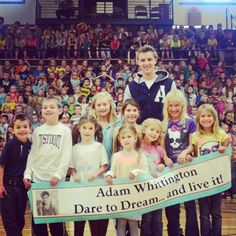 Michaels Dream Foundation - Adam Whittington Fights Bullying