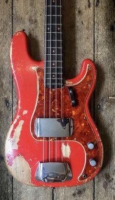 Fender Precision Bass, Fender Bass, Fender Guitars, Bass Guitars, Fender Vintage, Vintage Guitars, Guitar Amp, Madness, Weird