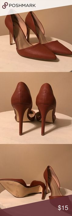 Just Fab heels Just Fabs Perfect spring heels. Worn less that an hour for a photo shoot. Shoes Heels