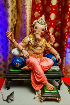Jai Ganesh, Ganesh Lord, Ganesh Idol, Ganesh Statue, Shree Ganesh, Ganesha Art, Ganesh Chaturthi Decoration, Happy Ganesh Chaturthi Images, Lord Ganesha Paintings