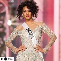 Eu também estou na torcida!!!#Repost @fhits with @repostapp ・・・ Fhits na torcida pela linda @santana_raissa que hoje representa a beleza da mulher brasileira no @missuniverse! Go, girl! ❤ #GirlPower #MissUniverse #MissUniverso #MissBrazil #Brazil