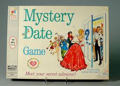 Mystery Date is a 1965 board game from the Milton Bradley Company, designed by Marvin Glass. It was marketed to girls 6 to 14 years of age.