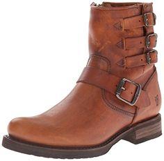 FRYE Women's Veronica Belted Short-WSHOVN Engineer Boot,  Cognac, 9 M US FRYE http://www.amazon.com/dp/B00R54VCDI/ref=cm_sw_r_pi_dp_oosdwb085RPGX