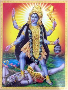 Goddess Kali Images, Maa Kali Images, Indian Goddess Kali, Durga Goddess, Indian Gods, Durga Maa, Jay Maa Kali, Kali Mata, Kali Hindu