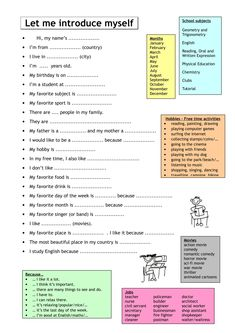 English esl speaking, elementary high school worksheets - most Esl Lessons, Grammar Lessons, English Language Learners, English Vocabulary, English Grammar Worksheets, Teaching English, Learn English, English Class, English Writing Practice
