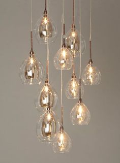 Luxe lighting needn't cost the earth. Step-in BHS, whose collection of designer-look, stripped-back illuminations start at a highly purse-palatable £25.