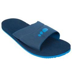 Sandalias natación Adulto azul
