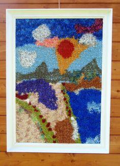 Léto - šitý gobelín http://www.fler.cz/arna