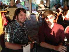 The Joshes - Josh L. and Josh B. celebrate the launch of our new site!  #corporateculture #employees #guidance