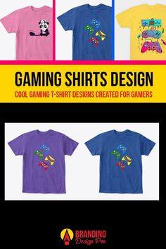 Gaming Shirts | A collection of gaming shirt designs from the brands Just Gaby Gaming, Jay's Xtreme Gaming, and Kenal Louis. Creative, Cute, Artistic, Cool Graphic Tees for Gamers. Gamer Tee Shirts. Get The Shirt You Love today! #gamer #tees #tshirt #shirts Cool Graphic Tees, Graphic Design, Splinter Cell, Who Plays It, Gamer Shirt, Shirt Tucked In, Shirt Store, Personalized T Shirts, Custom T