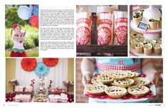 A mouth-watering strawberry soiree in the Spring '12 issue of Mingle!