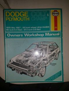 Haynes colt plymouth champ manual 41ade90727699