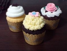 Felt Patterns - Sweet Cupcakes Pretend Play Set (Patterns and Instructions via Email) | umecrafts - Dolls & Miniatures on ArtFire
