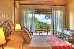 Beachy Keen View in the Master BR of Mel Gibson Costa Rican Estate.