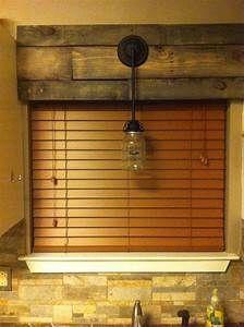 Ideas For Kitchen Window Drapes Cornice Boards Rustic Window, Decor, Rustic House, Kitchen Window Valances, Rustic Window Treatments, Wood Cornice, Wood Windows, Woodworking Outdoor Furniture, Window Coverings