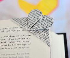 DIY - origami marque page