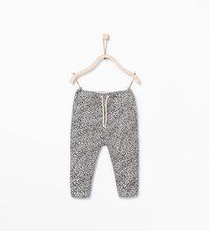 LOVE!  ZARA - KIDS - Patterned trousers