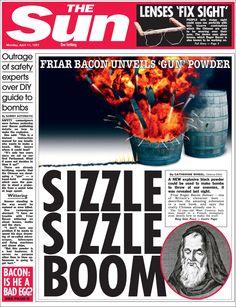 1267: Gunpowder begins to take off in the UK