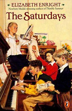 The Saturdays (Melendy Family) by Elizabeth Enright