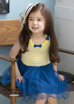 Cute Korean, Korean Girl, Little Girl Fashion, Kids Fashion, 4 Year Old Girl, Beautiful Children, Little Princess, Cute Babies, Little Girls