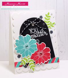 Mama Mo Stamps: Counting Blessings SOA - You Matter