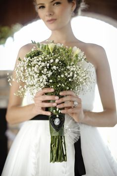 LOVELY baby's breath bouquet~ Photography by starfishstudiosfl.com, Floral Design by inesnaftali.com