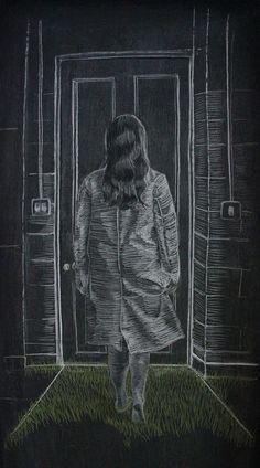 Chalk on Blackboard - Jane Locke Artist Project, Chalk Board, Photo Effects, Craft, News, Drawings, Photography, Painting, Chalkboard
