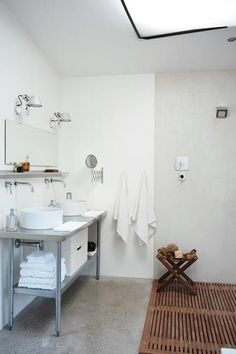 Eenvoudige, toch bijzondere badkamer | Inrichting-huis.com