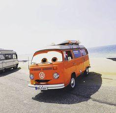 Liked on InstaGram: #cartoon #cars #smile #eyes #bus #vwaircooled #aircooledsociety #volkswagen #oldtimer #vanlife #vanlifediaries #renesse #holidays #thinkback #happy #bulli #t2 #aircooled #aircooledlife #vanlife #orange #beach #surf #surfboards #cool #picoftheday #maja #goldtimer #love