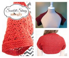 Scarlett Shrug: Free #Crochet Pattern on Moogly!