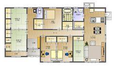 43坪、和モダンの平屋 | 大分安くていい家.com|創建