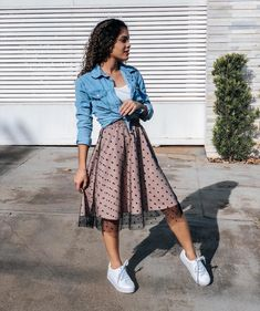 Modest Outfits, Skirt Outfits, Modest Fashion, Casual Outfits, Cute Outfits, Look Fashion, Teen Fashion, Womens Fashion, Church Outfits