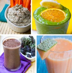 Nutrition and Wellness Recipes for a healthy week! #vegan #MeatlessMonday