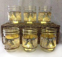 mason jar candle holders wedding decor adorable