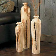 Beaded Aspen Floor Vases|WildWings