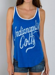 NFL Indianapolis Colts Tank $16.00