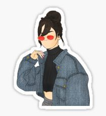 'Selena Gomez Drawing' Sticker by Outlyning Designs Selena Gomez Drawing, Selena Gomez Photos, Printable Stickers, Cute Stickers, We Heart It Wallpaper, Selena Gomez Wallpaper, Tumblr Png, Snapchat Stickers, Diy Phone Case