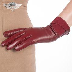 >> Click to Buy << KLSS Brand Touch Screen Genuine Leather Women Gloves High Quality Goatskin Gloves Elegant Lady Sheepskin Glove Hot Trend 1510 #Affiliate