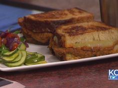 Braised Short Rib Ragout Grilled Cheese #adultgrilledcheese #shortribs #grilledcheese