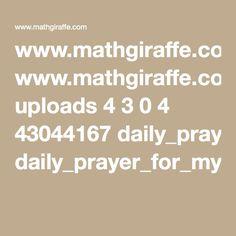 www.mathgiraffe.com uploads 4 3 0 4 43044167 daily_prayer_for_my_students.pdf