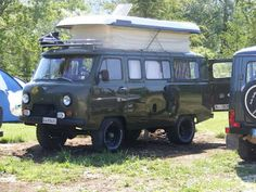 UAZ 452 campervan idea
