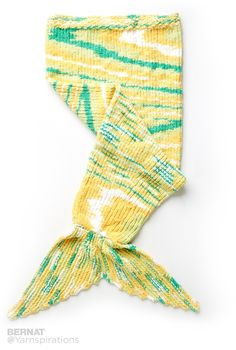 Knit Mermaid Snuggle Sack