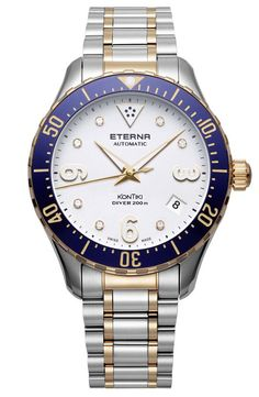 "The brand new #Eterna - #Watch ""Kontiki Lady diver"" #Kontiki - #SuperKontiki February 2016 ---"