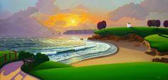 Paul Corfield Studio Work: A new seascape