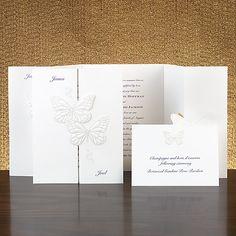 Butterflies - Invitation