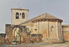 Viana de Duero, Comarca de Almazán, Soria - Iglesia de San Bartolomé, ábside románico