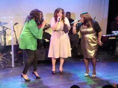 Lurine Cato, Priscilla Jones-Campbell & Hildia Campbell sing ANGELS @ Lurine Cato in Concert - YouTube