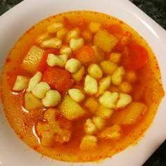 Gölődin leves   Gyöngyi 💇♀️ receptje - Cookpad receptek Chana Masala, Ethnic Recipes, Food, Essen, Meals, Yemek, Eten