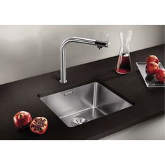 Maintaining the new shine of your sink requires making effort to use some cleaning ideas. Before digging into how to keep your sink shiny, you have to understand the options for stainless sinks. Single Bowl Sink, Double Bowl Sink, Kitchen Sinks For Sale, Drop In Sink, Corner Sink, Undermount Sink, Stainless Steel Kitchen, Cleaning, Home Decor