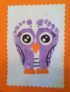 Check out these easy and fun Valentines crafts for kids to make - handprint art projects! You can buy all the supplies you need at your local dollar store - these would also make brilliant classroom valentines crafts for toddlers! Kids Crafts, Owl Crafts, Daycare Crafts, Animal Crafts, Baby Crafts, Toddler Crafts, Crafts To Do, Preschool Crafts, Projects For Kids
